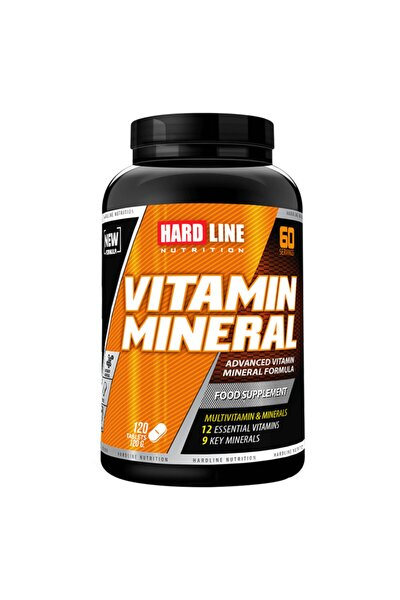 Hardline Vitamin Mineral 120 Tablet Kompleks Vitamin