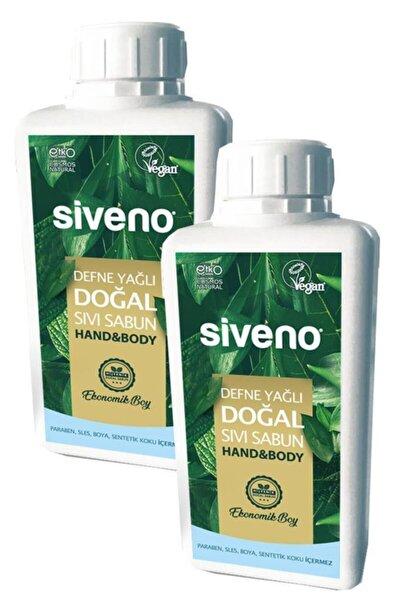 Defne Yağlı Doğal Sıvı Sabun 1 Lt X 2 Adet