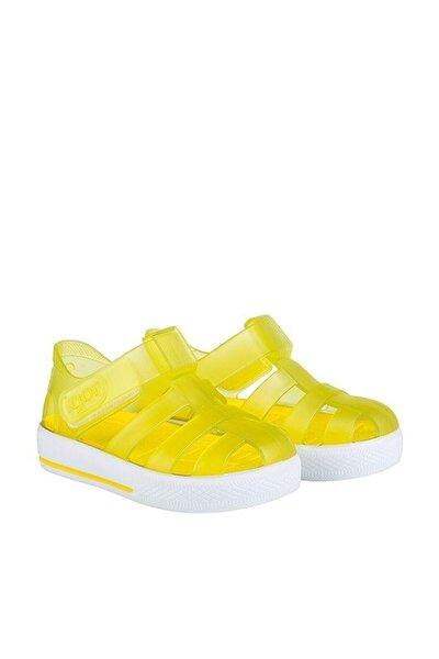 Star Kız Çocuk Sarı Sandalet