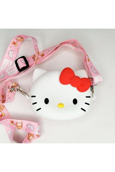 Hello Kitty Bozuk Para Cüzdanı Çanta Çocuk Cüzdan Küçük Para Kutusu Omuzdan Askılı Çanta