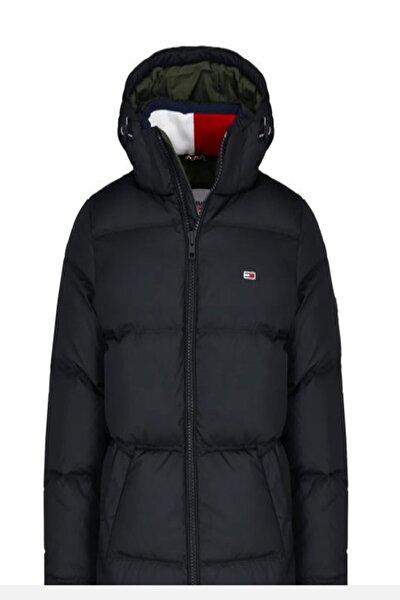 Erkek Siyah Mont Tjm Essentıal Down Jacket DM0DM08762