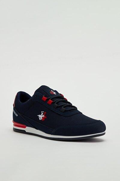 Erkek Lacivert Bağcıklı Sneaker Mgbarney01