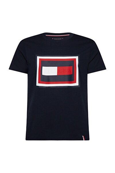 TH Erkek Hilfiger Frame Relaxed Fit T-shirt MW0MW12523DW5