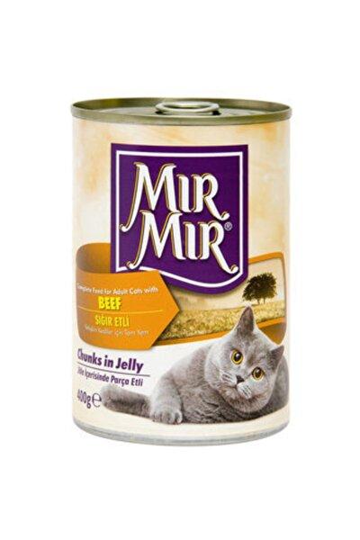 Mırmır Kedi Konserve 400 Gr Sığır Etli