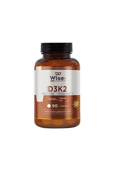 Vitamin D3 + K2 90 Tablet