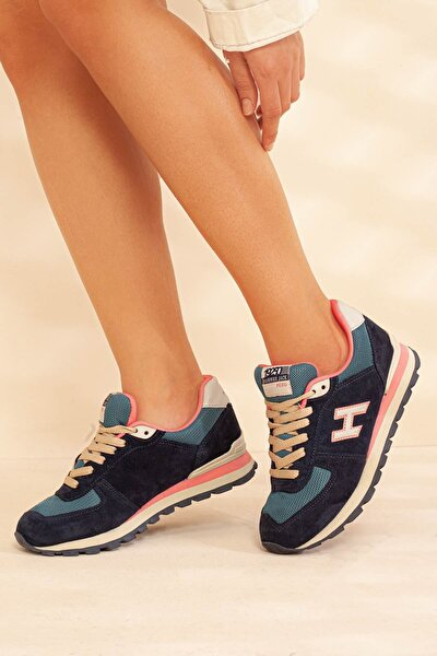 Hummerjack Lacivert Yeşil Kadın Spor Ayakkabı • A19gyhmj0001
