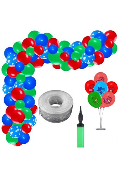 Pijamaskeliler Balon Seti Izmir Party Store