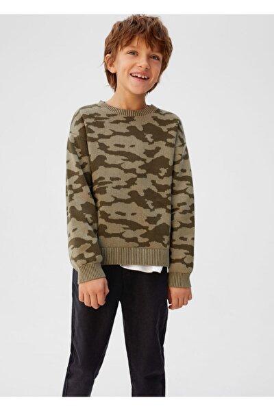 Erkek Çocuk Siyah Düz Kesim Pantolon