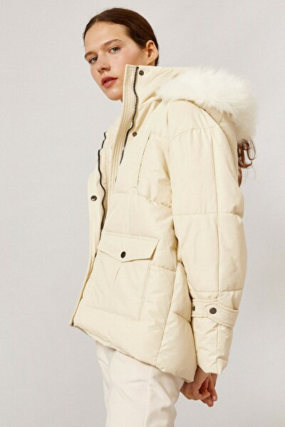 Kadın Beyaz Mont 1KAL58024OW