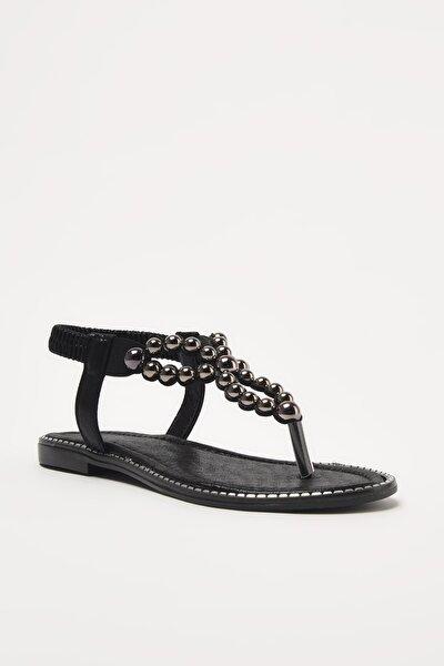 Siyah Kadın Sandalet 01SAY208690A100