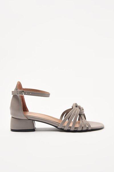 Gri Kadın Sandalet 01SAY212100A230