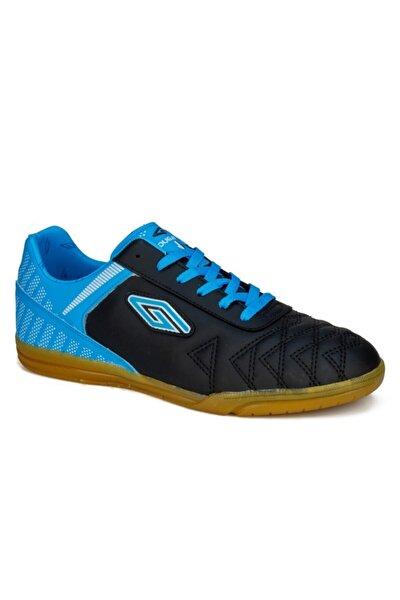 Erkek Siyah Turkuaz Futsal Spor Ayakkabı