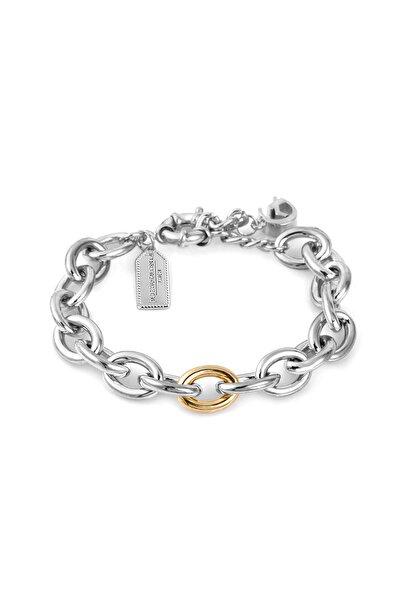 Kadın Gümüş Gold Renk Jewelery Bileklik