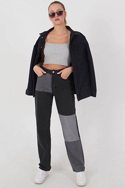 Kadın Antrasit Gri Cep Detaylı Pantolon Pn1153 - Pnd Adx-0000023940