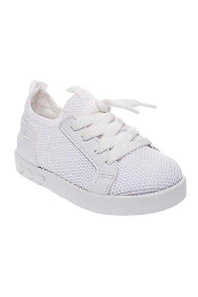 Kız Çocuk Işıklı Günlük Keten Spor Ayakkabı