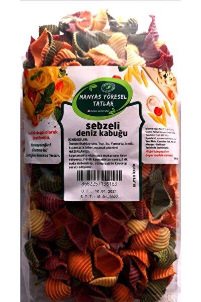 Manyas Yöresel Sebzeli Deniz Kabuğu Makarna 500 Gr