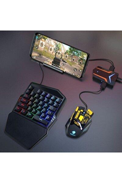 Pubg Oyun Konsolu 3in1-klavye Mouse Bağlayıcı 3 Lü Set Mükemmel Kontrol Pubg Anlaşmalı Pubgset