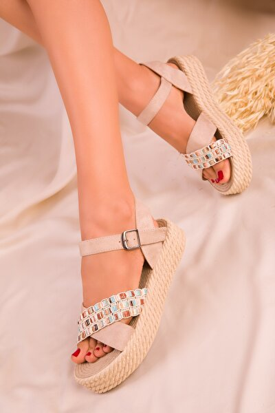 Ten Suet Kadın Sandalet 14953