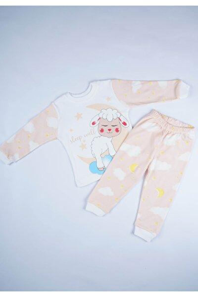 Yeni Sezon Penye Pamuk Bebek Çocuk Pijama Takımı