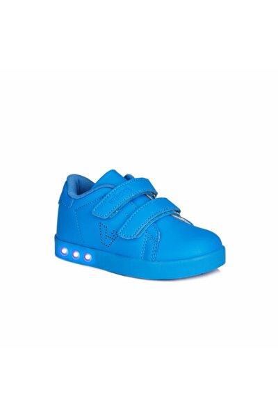 Oyo Erkek Çocuk Saks Mavi Spor Ayakkabı