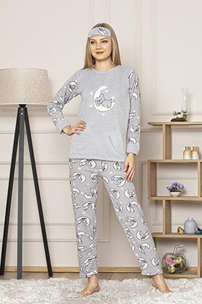 Kadın Gri Pijama Takım