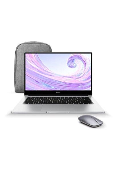 """Matebook D 14 AMD Ryzen 7-3700U 8 GB 512 GB SSD 14"""" W10 Taşınabilir Bilgisayar + Çanta ve Mouse"""