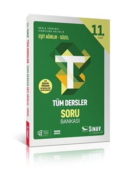 11. Sınıf Tüm Dersler Eşit Ağırlık Sözel Soru Bankası