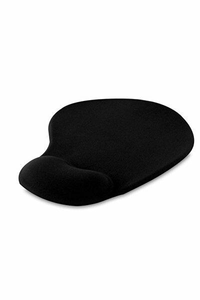 Siyah Bileklikli Ergonomik Mouse Pad