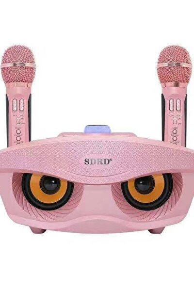 Taşınabilir Bluetooth Karaoke Hoparlörü Yüksek Ses Extra Bass Radyo Sd Kart Aux Giriş