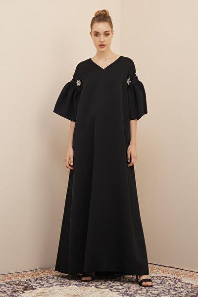 Kadın Siyah Dalia Elbise