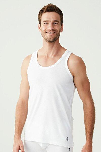 Erkek Beyaz 2 Li Atlet