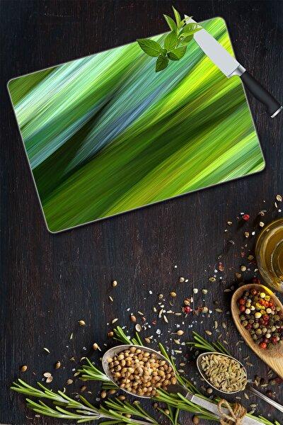 Sabanyeşil Dalga Cam Kesme Tahtası - Cam Kesme Tablası | 20 Cm X 30 Cm