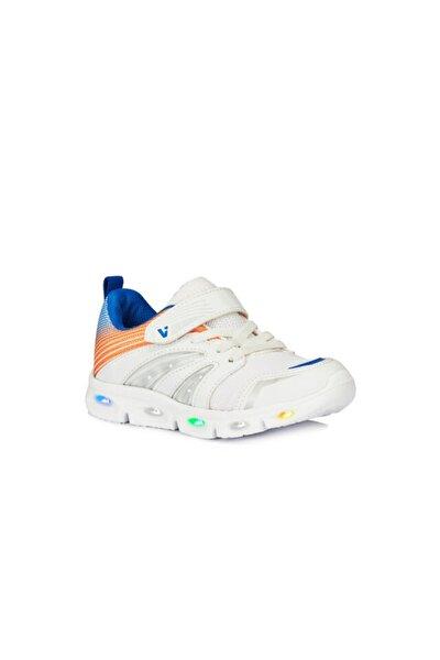 Unisex Çocuk Beyaz Işıklı Spor Ayakkabı