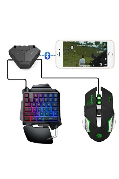 K-snake Pubg Oyun Gaming Klavye Ve Gaming Mouse Pad Oyun Konsolu