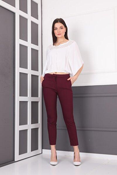 Kadın Ramon Arka Bel Lastıklı Sık Pantolon