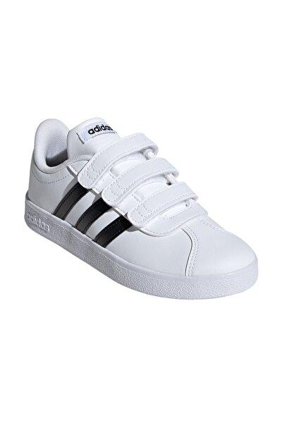 VL COURT 2 CMF C Beyaz Unisex Çocuk Sneaker Ayakkabı 100323815