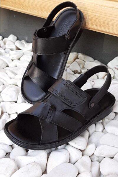 Erkek Sandalet Cırtlı Terlik 98111
