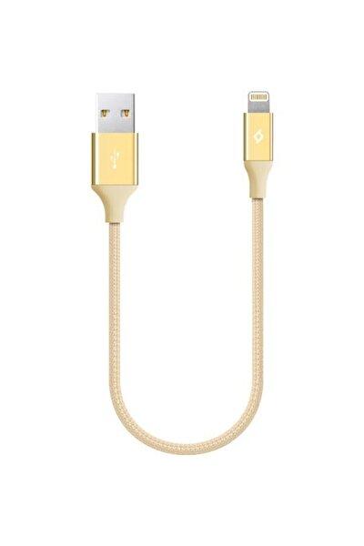 AlumiCable Mini 30 cm iPh Altın Renk Şarj Kablosu