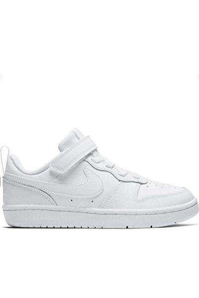 Unisex Çocuk Beyaz Günlük Spor Ayakkabı Bq5451-100 Court Borough Low 2 (psv)