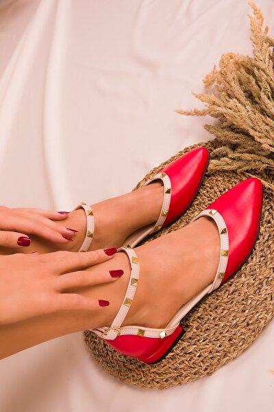 Kırmızı Kadın Babet 14510