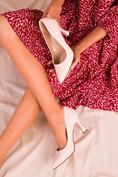 Ten Kadın Klasik Topuklu Ayakkabı 16002