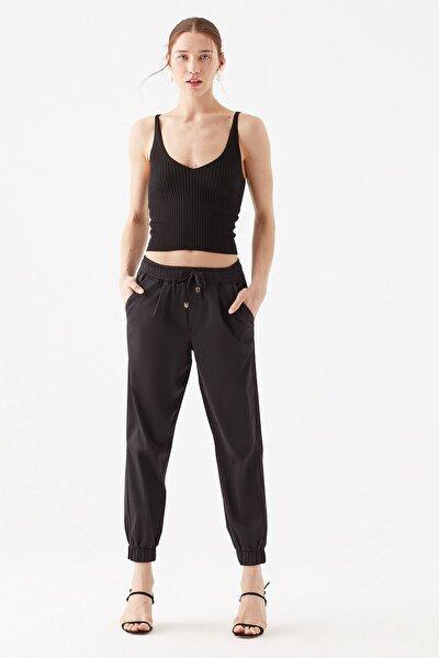 Siyah Jogger Pantolon 101356-900