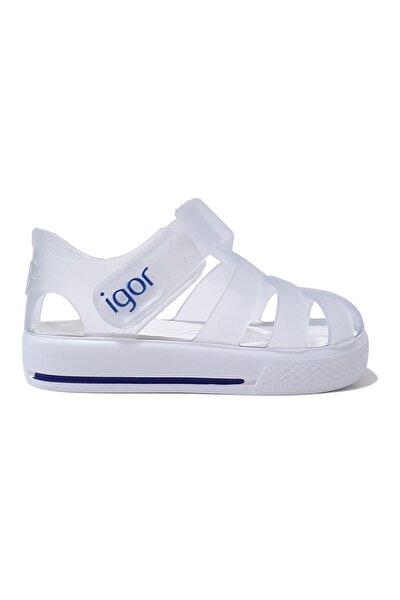 Star Bebek Sandalet Beyaz