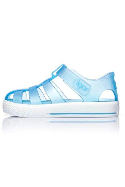 Çocuk Mavi Star Sandalet 20-28 S10171
