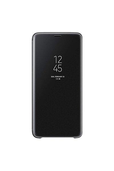 Apple Iphone Xs Max Için Clear View Aynalı Kapaklı Kılıf - Siyah