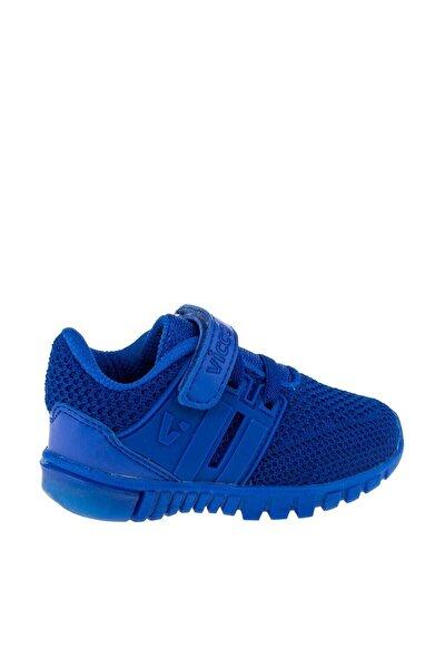Unisex Çocuk Mavi Işıklı Ayakkabı