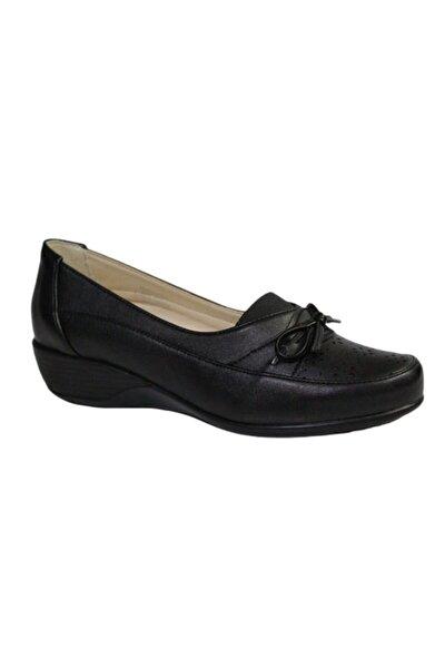 Kadın Siyah Comfort Ortopedik Ayakkabı 161626