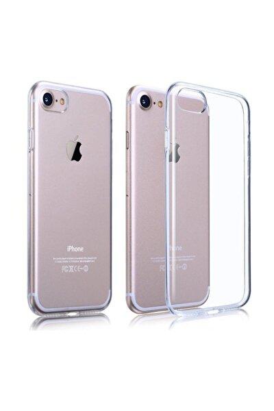 iPhone 7 - iPhone 8 Şeffaf Silikon Kılıf