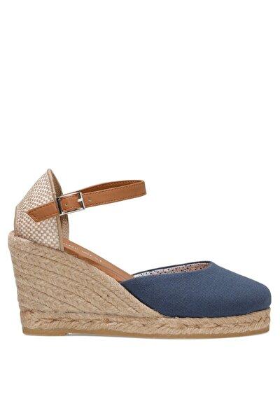 ARTEMISIA 1FX Lacivert Kadın Dolgu Topuklu Sandalet 101017833