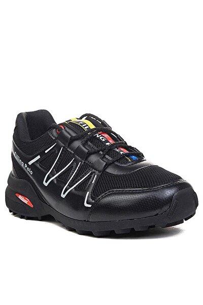 Erkek Siyah Beyaz Günlük Spor Ayakkabı Fp046